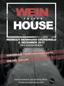 Wein trifft House