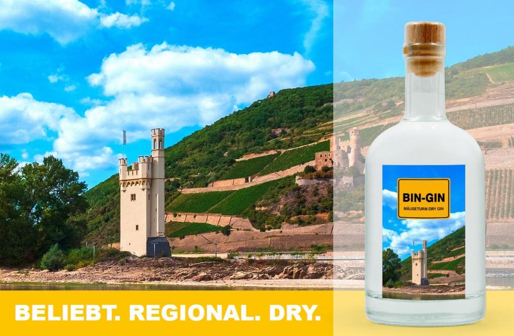 BIN-GIN Beliebt Regional Dry
